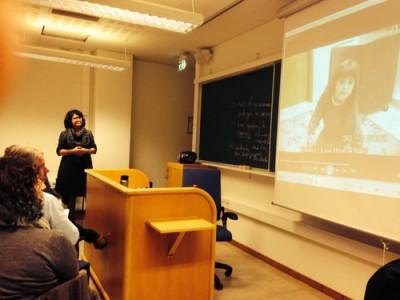 Professor Anna Sfard trakk deltakarane inn i innsiktsfulle samtalar om læring og undervisning.